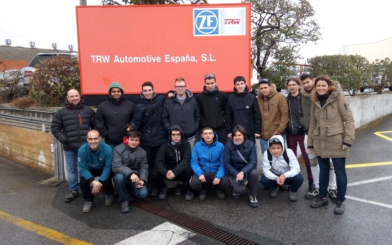 1º CMA – Visita a TRW Automotive