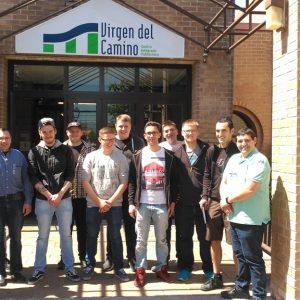Alumnado de FP de Alemania realiza prácticas en el Centro