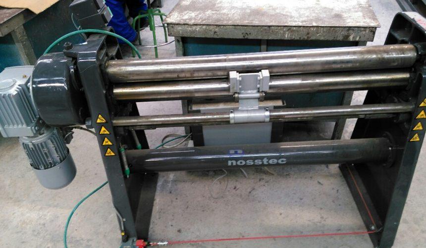 Adquisición de curvadora  para el taller de Construcciones Metálicas.