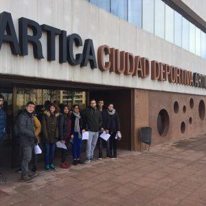 VISITA INSTALACIONES DEPORTIVAS: CIUDAD DE ÁRTICA