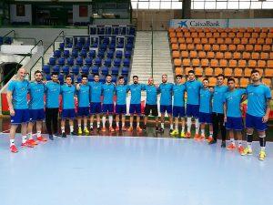 Jugadores y cuerpo tecnico del CLUB Deportivo XOTA