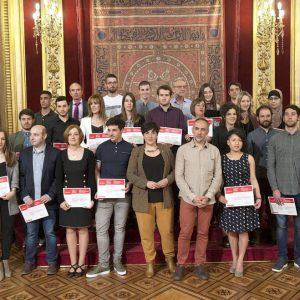 Entregados los Premios Extraordinarios de FP de Navarra a 25 estudiantes