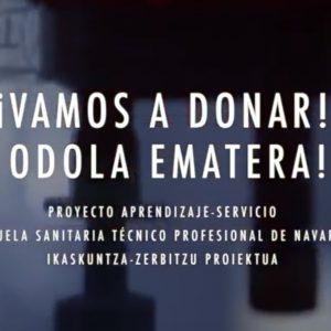 Vamos a Donar / Odola Ematera