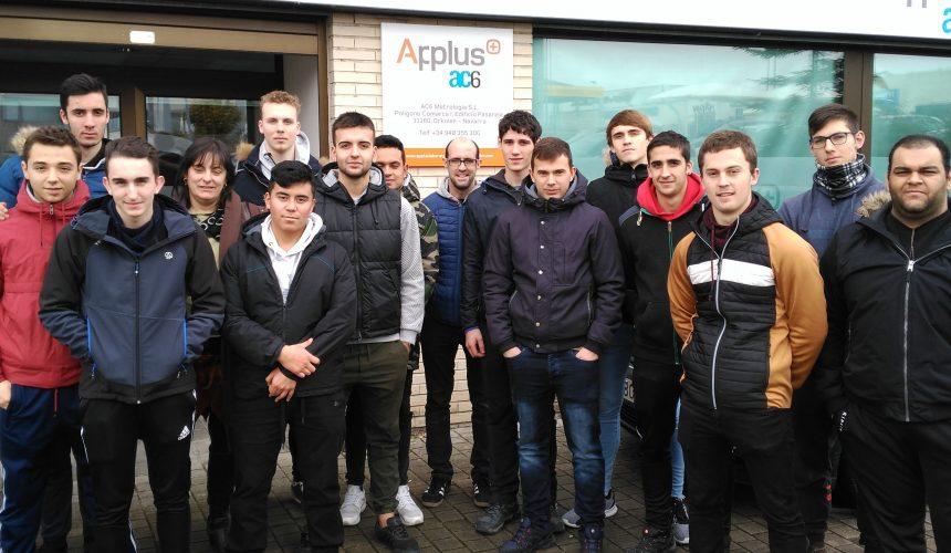 Visita a AC6 Metrología Applus+