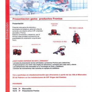 JORNADA GAMA PRODUCTOS  FRONIUS