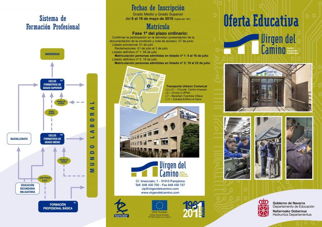 Oferta Educativa Cip Virgen Del Camino