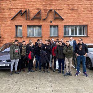 Mecanizado visita a la empresa Enpa, Hirudeme y Miasa