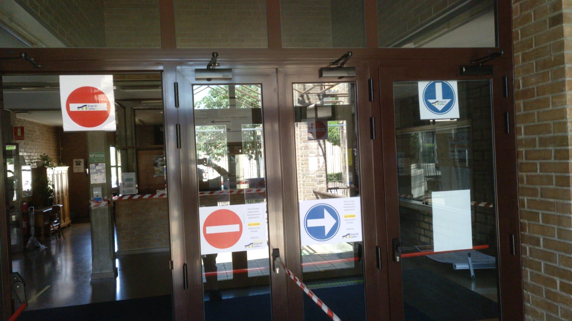 Puerta Entrada CIPVdC-COVID19