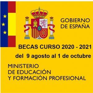 Becas Educación para estudiar Formación Profesional